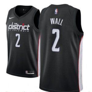 Men's Washington Wizards #2 John Wall Jersey